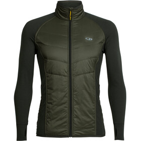 Icebreaker Ellipse Jacket Men Kale